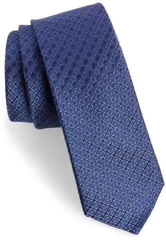 Calibrate Denberg Check Silk Tie