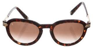 Louis Vuitton Rosalie Tortoiseshell Sunglasses