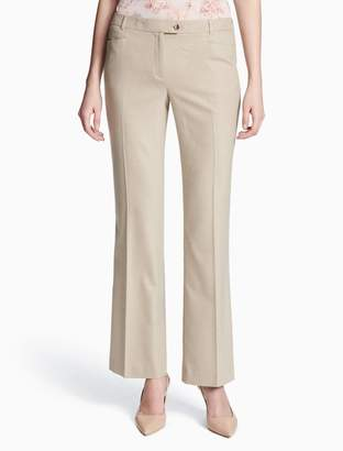 Calvin Klein straight leg modern fit suit pants