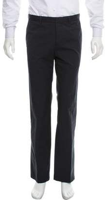 Prada Sport Flat-Front Four-Pocket Pants
