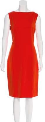 Ralph Lauren Black Label Wool Sleeveless Dress