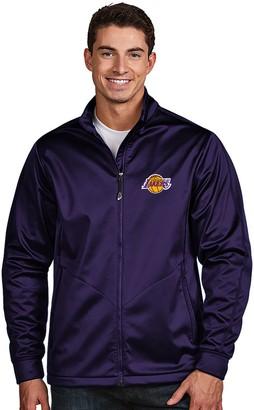 Antigua Men's Los Angeles Lakers Golf Jacket