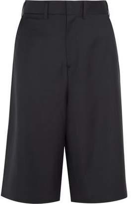 Vetements + Brioni Split-Back Wool Shorts