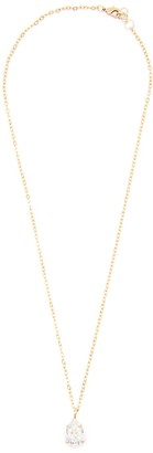 Rosaspina Firenze White Patina Drop Necklace