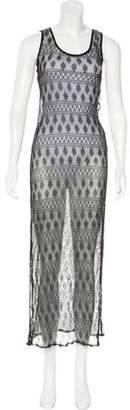 Kenzo Open Knit Maxi Dress