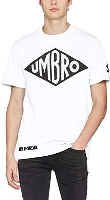 House of Holland Men's Umbro Vintage Logo T-Shirt Casual Shirt