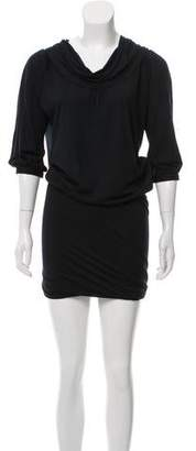 Ungaro Scoop Neck Knee-Length Dress
