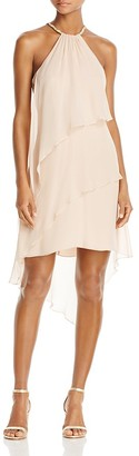 Laundry by Shelli Segal Tiered Halter Dress $195 thestylecure.com