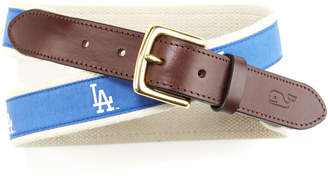 Vineyard Vines Los Angeles Dodgers Canvas Club Belt