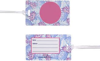 Vineyard Vines Monogrammed Pineapple Luggage Tag