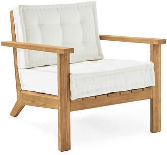 Serena & Lily Cliffside Teak Lounge Chair
