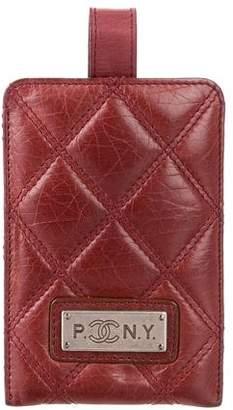 Chanel Paris-New York Luggage Tag