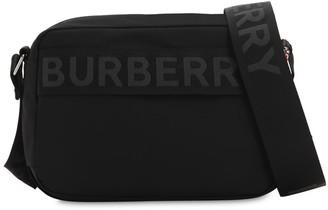 Burberry Logo Nylon Messenger Bag