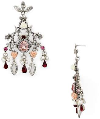 Dannijo Ivy Statement Chandelier Earrings