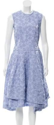 Co Flared Skirt Dress w/ Tags blue Flared Skirt Dress w/ Tags