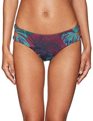 Bikini Lab Junior's Why Cant We Be Fronds Cut Out Hipster Bikini Bottom