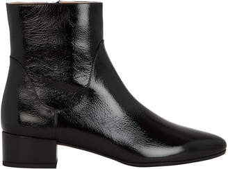 Francesco Russo Patent Leather Boots