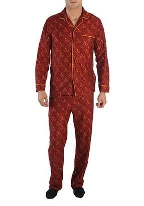 Bioworld Men' Harry Potter Longleeve Long Leg Pajama,mall, Multi