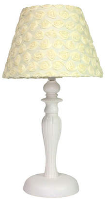 Nurture Yellow Roses Lamp Base with Shade