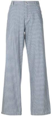 A.P.C. Coryn striped wide-leg trousers
