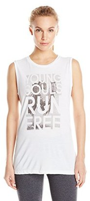 Lucy Women's Young Souls Graphic Tank $29 thestylecure.com