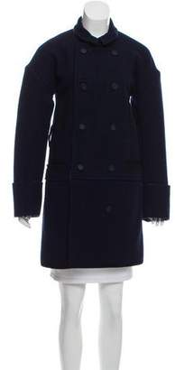 Balenciaga Knee-Length Wool Coat