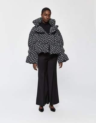 Saks Potts Star Puffer Jacket in Black