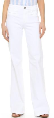 AG The Lana Wide Leg Trouser Jeans $198 thestylecure.com