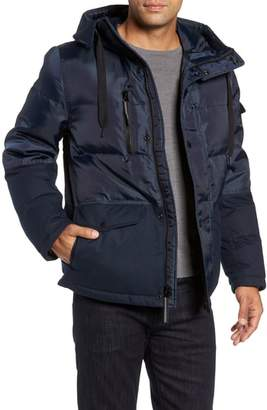Andrew Marc Stanton Oxford Puffer Jacket
