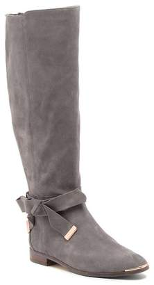 Ted Baker Alrami Suede Bow Knee-High Boot