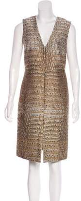 Stella McCartney Jacquard Midi Dress