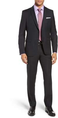 BOSS Reymond/Wenten Slim Fit Check Wool Suit