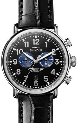 Shinola Men's 47mm Runwell Chronograph Watch