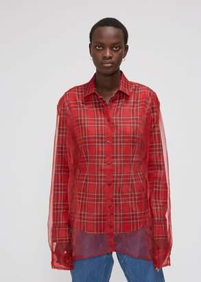 Y/Project Organza Long Sleeve Shirt