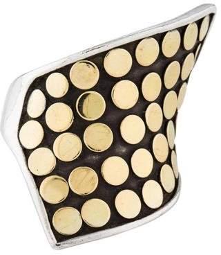 John Hardy Two-Tone Dot Wrap Ring
