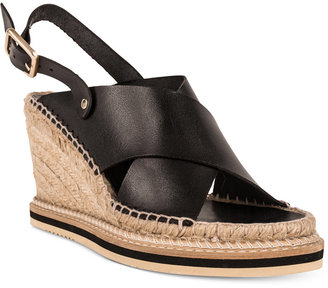 Andre Assous Emily Slingback Wedge Sandals $215 thestylecure.com