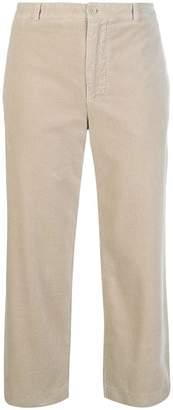 Aspesi slim velvet corduroy trousers