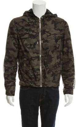 Givenchy Camouflage Airtex Mesh Jacket
