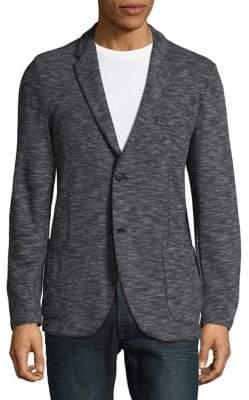 Strellson Ribbed Long Sleeve Blazer