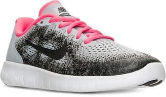 Nike Girls' Free Run 2 Running Sneakers from Finish Line $79.99 thestylecure.com