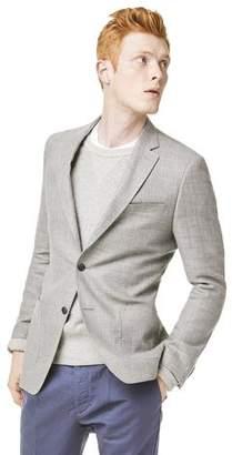 Todd Snyder White Label Wool/Linen Basketweave Sutton Sport Coat in Grey