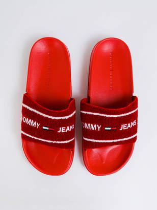 Tommy Hilfiger Womens Tommy Jeans Summer Slides