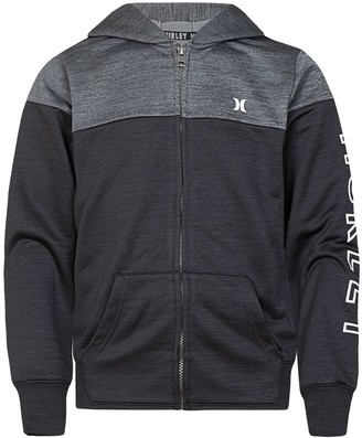 Hurley Boys 4-7 Dri-FIT Colorblock Solar Zip Hoodie
