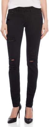 The Kooples Black Distressed Skinny Jeans
