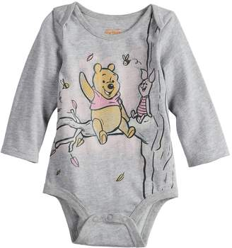 Osh Kosh Disneyjumping Beans Disney's Winnie The Pooh & Piglet Baby Girl Graphic Bodysuit by Jumping Beans