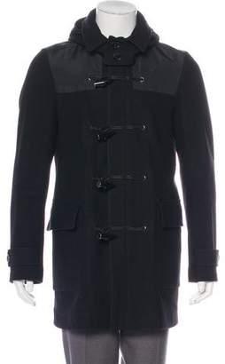 Burberry Wool Hooded Duffle Coat