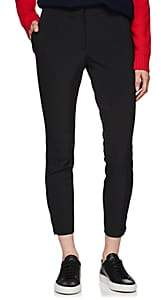 Prada Women's Stretch-Twill Skinny Trousers - Black