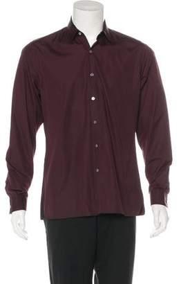 Lanvin Woven Dress Shirt