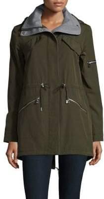Vince Camuto Olive Zipped Jacket