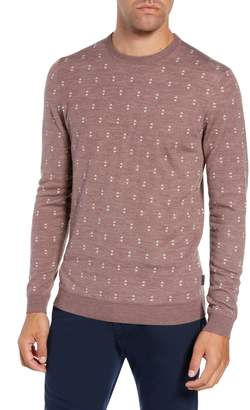 Ted Baker Talkoo Trim Fit Crewneck Sweater